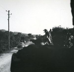 France Corse Bonifacio le Maquis ancienne photo stereo Amateur 1920