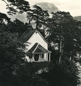 Switzerland Kindlimord Gersau Old Wehrli Stereo Photo 1906