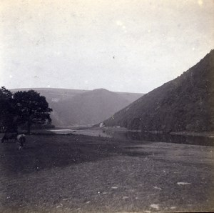 Grand Duchy of Luxembourg Sure River Valley Old Stereo Stereoview Photo 1900
