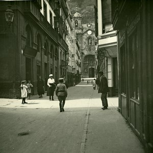 Basque Country Donostia San Sebastian Calle Mayor Possemiers Stereo Photo 1910