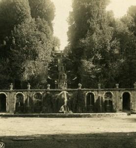 Italy Roma Frascati Villa Torlonia Old NPG Stereo Photo Stereoview 1900