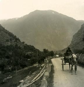 Norway Valders Old NPG Stereo Photo Stereoview 1900