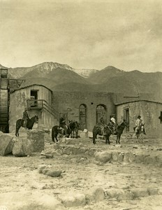 Argentina Andes an abandoned Gold Laundries Old NPG Stereo Photo Stereoview 1900