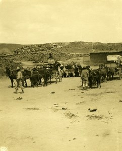 Bolivia Andes Post Office Horses Old NPG Stereo Stereoview Photo 1900