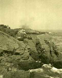 Peru Mollendo Port Coast Sea Old NPG Stereo Stereoview Photo 1900