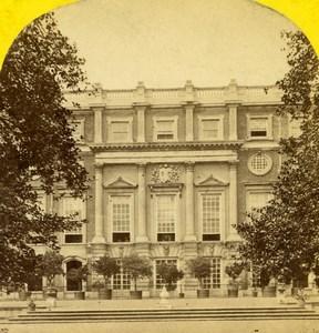 United Kingdom London Hampton Court Palace Old Stereoview Photo York 1860