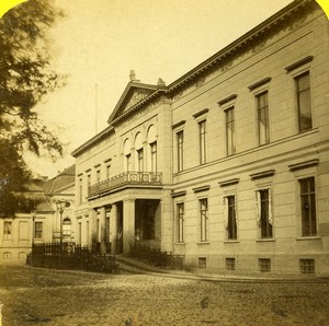 Germany Berlin Royal palace Old Stereoview Photo Plaut 1860