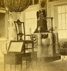 USA Philadelphia Independence Hall Interior Old Stereoview Photo Cremer 1875
