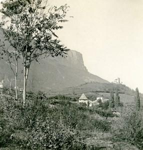 Italy South Tyrol Alps Mountain Eppan near Bozen Old Stereoview Photo NPG 1900