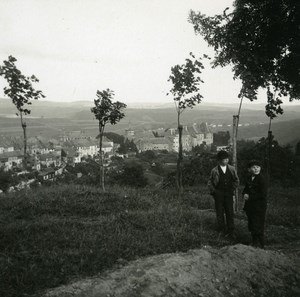 Luxembourg Wilz Panorama Old Amateur Stereoview Photo Possemiers 1900