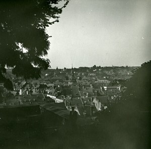 Belgium Namur Panorama Old Amateur Stereoview Photo Possemiers 1900