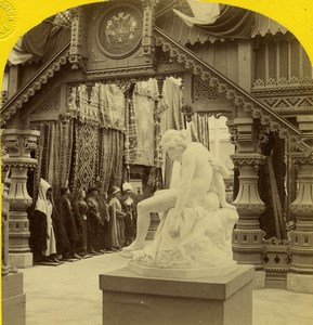 Paris World Fair Russian Costumes Italian Statues Leon & Levy Stereo Photo 1867
