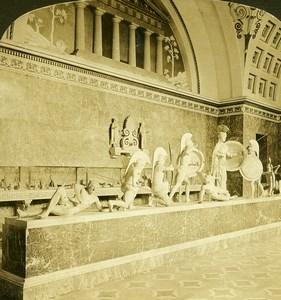 Germany Bavaria Munich Munchen Museum Old Photo Stereoview HC White 1900