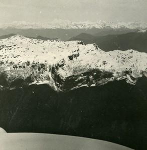 Sikkim Sikhim Himalaya Everest Gaurishankar Old Stereo Photo Kurt Boeck 1906