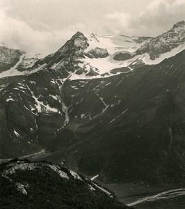 Austria Carinthia Nassfeld Schlappereben Old Stereo Photo Photobrom 1900