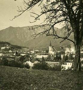 Austria Salzkammergut Bad Ischl Old Stereo Photo Photobrom 1900