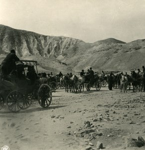 Middle East Palestine Jerusalem road to Jericho Old NPG Stereo Photo 1900
