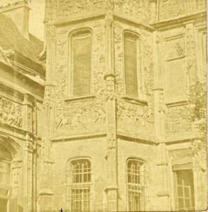 France Normandy Voyage en Normandie Rouen? Old Stereo Photo 1860