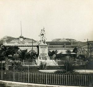 France Toulon Statue de la Défense Ancienne Photo Stéréo SIP 1900