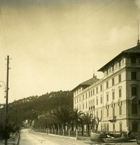 Italie Arenzano Villa Negrotto Ancienne Photo Stereo NPG 1900