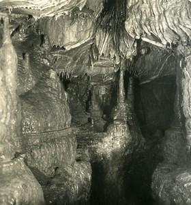 Germany Bavaria Streitberg Binghöhle Bing Cave Old NPG Stereoview Photo 1906 #2