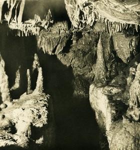 Germany Bavaria Streitberg Binghöhle Bing Cave Old NPG Stereoview Photo 1906 #4
