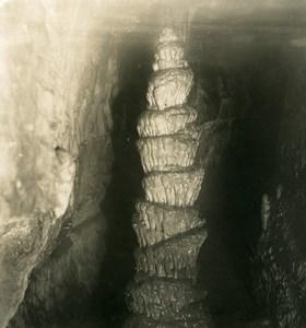 Germany Bavaria Streitberg Binghöhle Bing Cave Old NPG Stereoview Photo 1906 #7