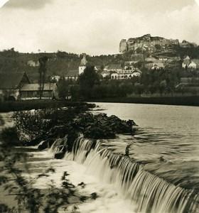 Germany Franconia Bavaria Streitberg Panorama Old NPG Stereoview Photo 1906