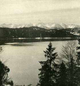 Germany Bavarian Alps Walchensee Old NPG Stereoview Photo 1906