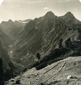 Germany Bavarian Alps Rainthal Old NPG Stereoview Photo 1906