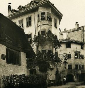 Italy Tyrol Bozen Bolzano Batzenhäusl Old NPG Stereo Photo 1906