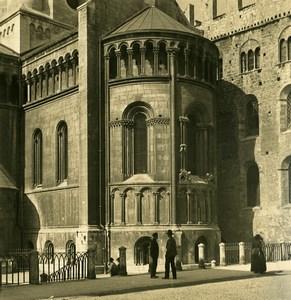Italie Südtirol Tyrol Trient Trente Cathedrale Ancienne Photo Stereo NPG 1906