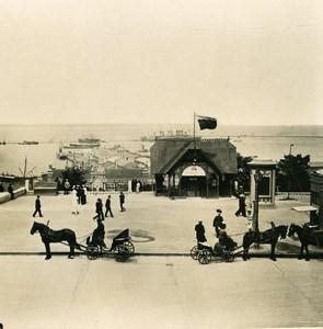 Russie Ukraine Odessa Port Ancienne Photo Stereo NPG 1900