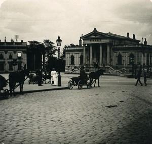 Russia Ukraine Odessa Museum Old NPG Stereo Photo 1900