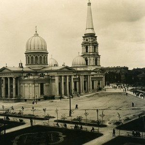 Russia Ukraine Odessa Cathedral Old NPG Stereo Photo 1900
