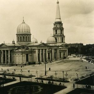 Russie Ukraine Odessa Cathedrale Ancienne Photo Stereo NPG 1900