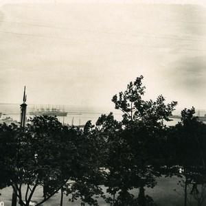 Russia Ukraine Odessa Harbor Old NPG Stereo Photo 1900