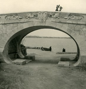 Russia Crimea Sebastopol Viaduct Bridge Old NPG Stereo Photo 1900