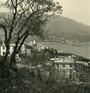 Russia Crimea Sebastopol Panorama Old NPG Stereo Photo 1900