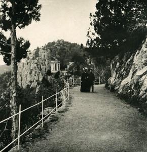 Russia Crimea Orianda Oreanda Road Old NPG Stereo Photo 1900