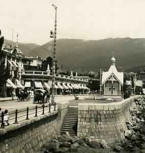 Russia Crimea Yalta Jalta Floren Pavillion Old NPG Stereo Photo 1900