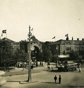 Denmark Copenhagen Tivoli Gardens Omnibus Old NPG Stereo Photo 1900