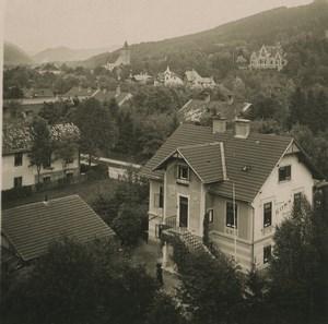 Austria Semmering Payerbach Old Photobrom Stereoview Photo 1900