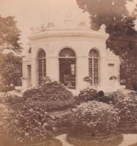 Italy Genoa Villa Pallavicini Flower House Old Stereo Photo Noack 1880
