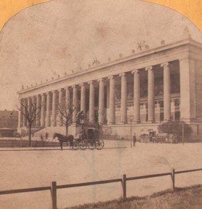 Germany Berlin Museum Old Stereoview Photo Moser 1870