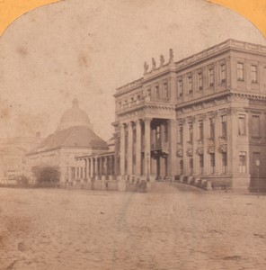 Germany Berlin Royal palace Old Stereoview Photo Moser 1870
