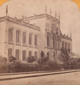 Germany Koln Museum Old Stereoview Photo Jouvin 1870