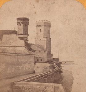 Germany Koln Bayenturm Medieval Tower Old Stereoview Photo Jouvin 1870
