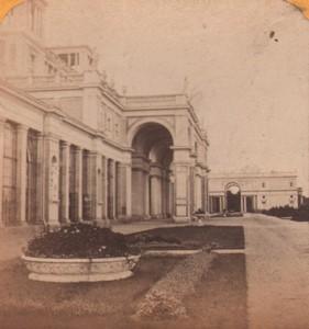 Allemagne Potsdam Palais de Sanssouci ancienne Photo Stereo Gaudin 1870