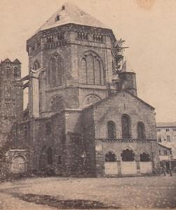 Allemagne Cologne Basilique Saint-Géréon ancienne Photo Stereo Braun 1870